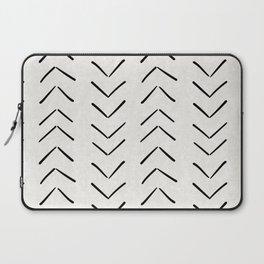 Mud Cloth Big Arrows in Cream Laptop Sleeve