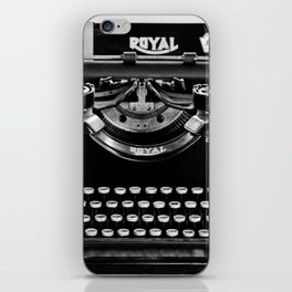 Vintage Typewriter iPhone Skin