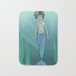 Mermaid Louis Bath Mat
