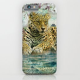 Lingering Leopard iPhone Case