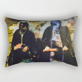 galaxy nuns Rectangular Pillow