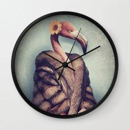 Lady Flo Wall Clock