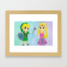 Be Mine, Zelda Framed Art Print