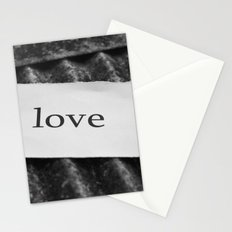 Iron-clad love Stationery Cards