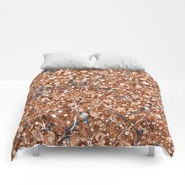 Vintage Marbled Texture - Organic Overdose Comforters