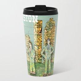 I Heart Houston Travel Mug
