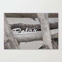 relax Canvas Prints featuring Relax by LebensART Photography