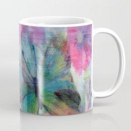 Floral Butterfly Burst Coffee Mug