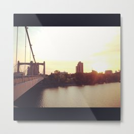 Hennepin Ave Bridge Metal Print
