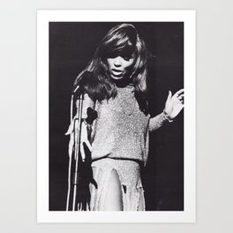 Tina Anna Mae Bullock Turner - Society6 Online Pop Icon - Shop Music Photography Ⓢ.в.乇.⑦⑧ Ⓜⓘⓛⓛⓨ Art Print