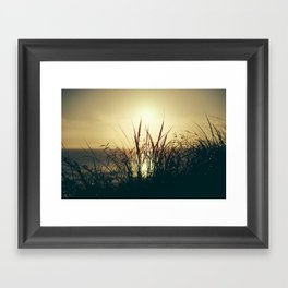 Newquay Sunset Framed Art Print