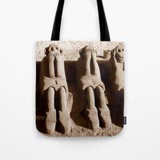 Speak No Evil, See No Evil, Hear No Evil Tote Bag