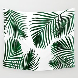 Tropical Palm Leaf Wall Tapestry