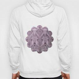 Lavender,art nouveau,vintage,beautiful,floral,belle époque,pattern,elegant, chic,modern,trendy Hoody