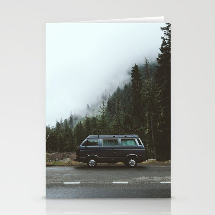 Northwest Van Stationery Cards