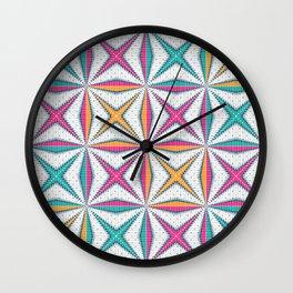 Christmas Colour Wall Clock