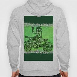 Peace Rider - Dirt Bike Racer Hoody