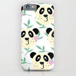 WWF Panda Donations iPhone Case