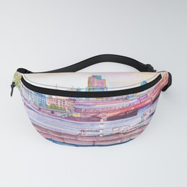 Colorful London Fanny Pack