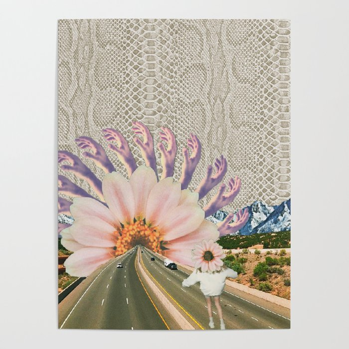 Go Home, Flower Child, 2018 Poster