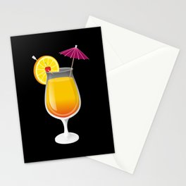 Tequila Sunrise Stationery Cards