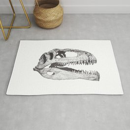 The Anatomy of a Dinosaur II - Jurassic Park Rug