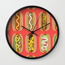Hotdog! Wall Clock