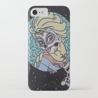 olaf iPhone & iPod Cases featuring Elsa and Olaf by KittyOG