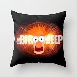 The Big Meep Throw Pillow