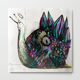 Caracolo elegante Metal Print