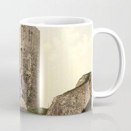 Vintage Photo-Print of Scarborough Castle (1900) Coffee Mug