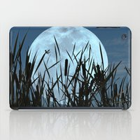 bebop iPad Cases featuring Between the Moon and Marsh by DebS Digs Photo Art