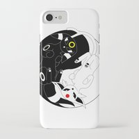 ying yang iPhone & iPod Cases featuring Ying & Yang by Kurew Kreations