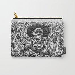 Calavera Oaxaquena by Jose Guadalupe Posada Carry-All Pouch
