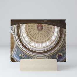 Wisconsin Capitol Building Rotunda 1 Mini Art Print