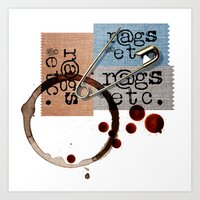 rags_etc Art Print
