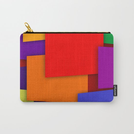Color Bars #6 Carry-All Pouch