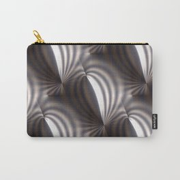 Push and squeeze with misty stripes Carry-All Pouch