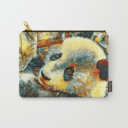 AnimalArt_Panda_20180102_by_JAMColors Carry-All Pouch