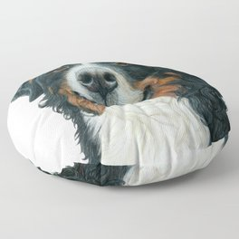 Rosie the Berenese Mountain Dog Floor Pillow