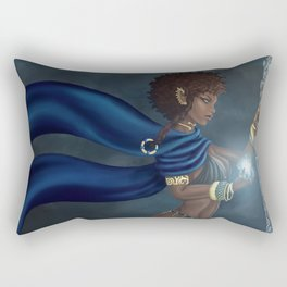 Dark Elf Rectangular Pillow