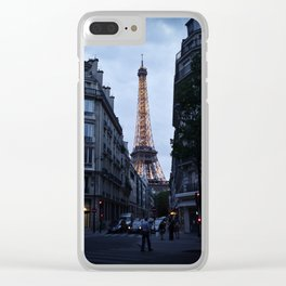 Take me out Clear iPhone Case