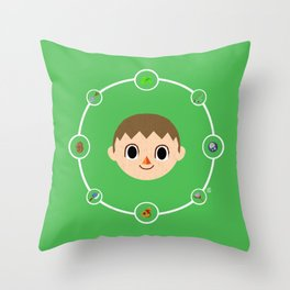The Villager (Male) [LIMITED] Throw Pillow