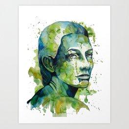 Paulina by carographic Art Print