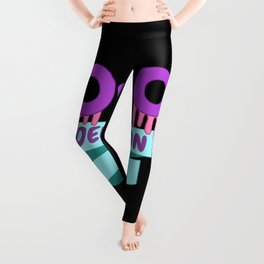 Yami Kawaii UwU OwO Whats This Pastel Goth Gift Leggings