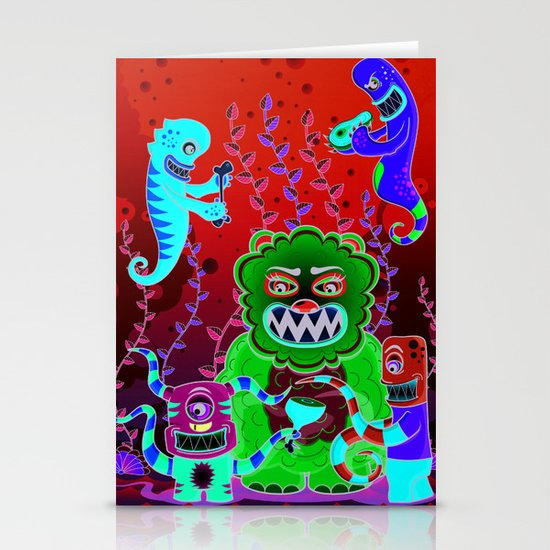 Flesh and Teeth's Stationery Cards