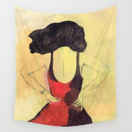 SELINA BEACH SKETCHBOOK Wall Tapestry