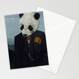 Monsieur Panda Stationery Cards