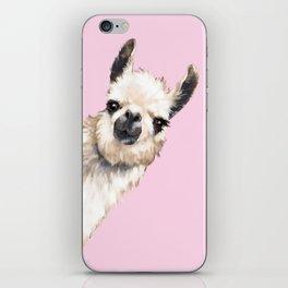 Sneaky Llama iPhone Skin