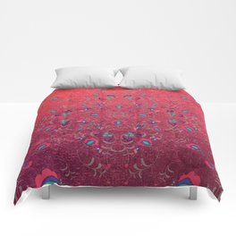 FOLK PATTERN #society6 Comforters